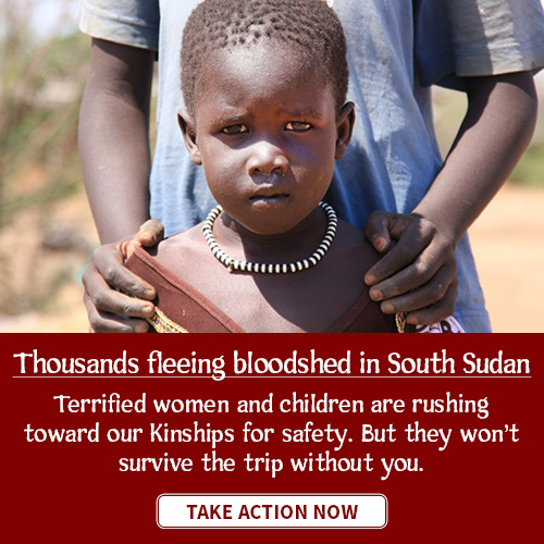 Thousands of refugee women and children are fleeing violence in South Sudan. Will you help get them to safety?