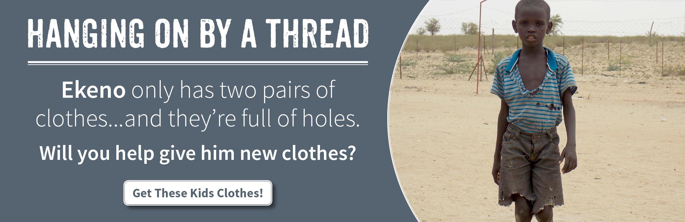 Clothes for Children in Kenya