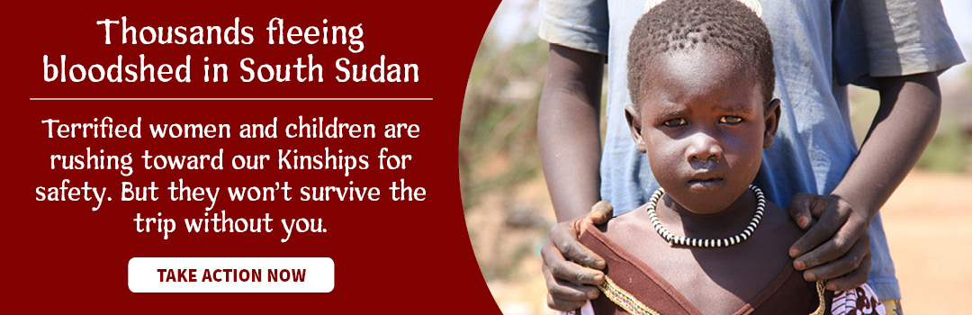 Thousands of refugees are fleeing violence in South Sudan. Will you help get them to safety?