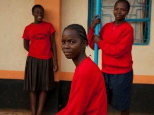 Kenyan Girls at School