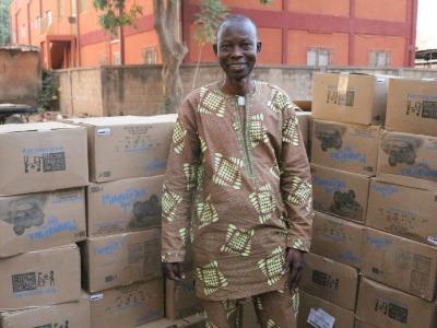 Burkina Faso food container