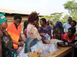 Ugandan Widows - baking project