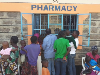 The Pharmacy at the Free Clinic in Kenya