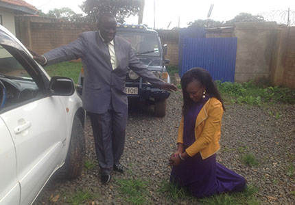 Your gifts bought Elizabeth a car! Now she can make it around Kenya safely.