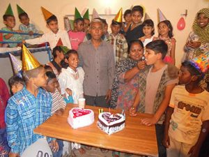 A birthday party in Lahore, Pakistan