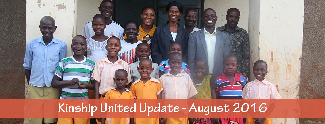 Kinship United Updates for August 2016