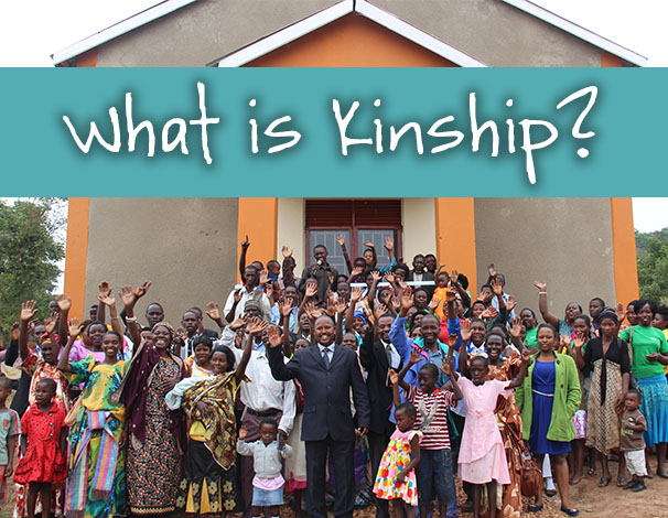Kinship in its simplest form is a way to give broken people a place to belong.