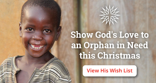 Make your tax-deductible gift now to help grant an orphan's Christmas wish this season.