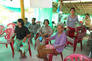 Men Thyda started a church in her home in Cambodia