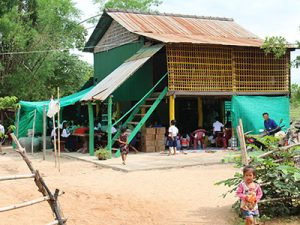 A home church in Cambodia