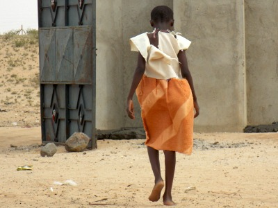Girl in Lodwar, Kenya