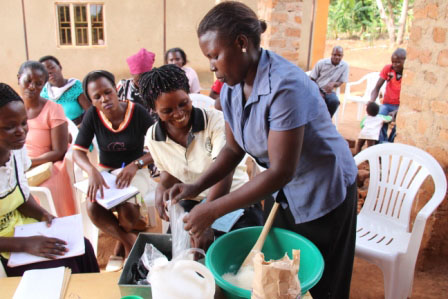 Thanks to your support, the Women of Worth Baking Outreach in Uganda has taken off this year!