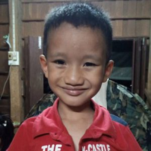 Your contributions enable the Wang Pa Kinship to take in children like Lalapo, a refugee from Myanmar.