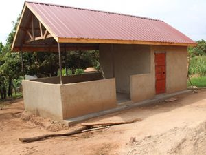 New kitchen at the Jungo Kinship in Uganda