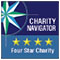 Kinship United has received the highest possible 4-star rating from Charity Navigator for sound fiscal management and commitment to accountability and transparency.
