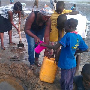 A gift to Clean Water Solutions will dig deep water wells for Kinships, distribute water filters to families, and more.