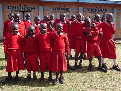 Your gifts gave Bosnia Kinship Kids new uniforms!