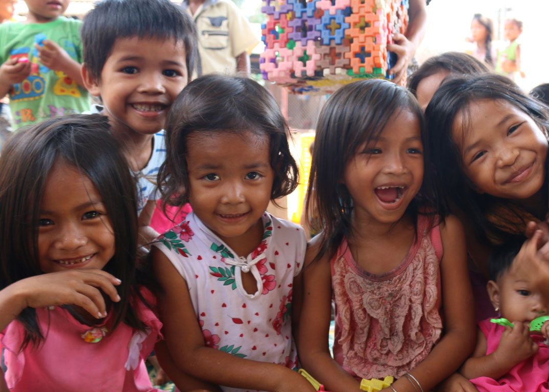 Childcare prevents trafficking of children in Cambodia