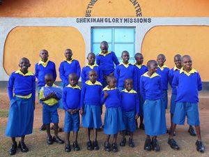 Your gifts gave Emmanuel Kinship Kids new uniforms!