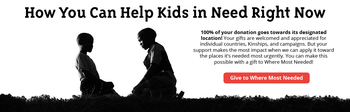 100% of your donation goes towards its designated location!