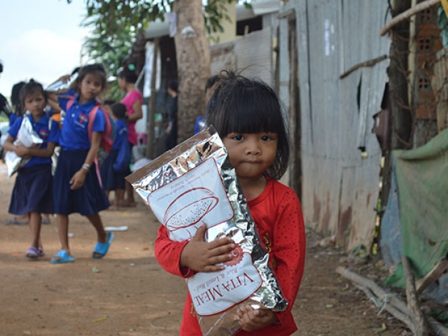 food outreach - cambodia