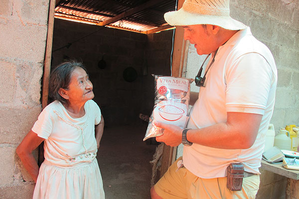 food outreach – honduras