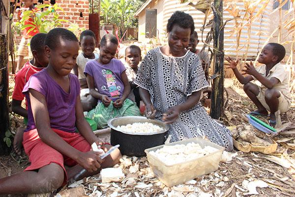 food - uganda