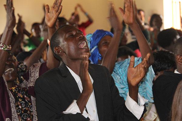 worship - uganda
