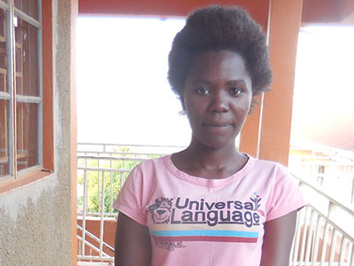 Sylvia is the first Ugandan Kinship Kid to graduate high school and go into a vocational training program!