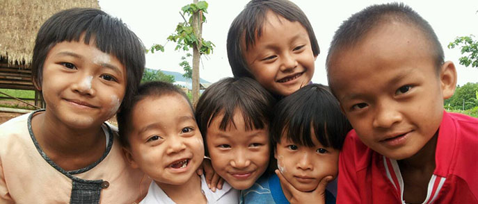 Charity for Wiang Pa Pao Kinship - Thailand