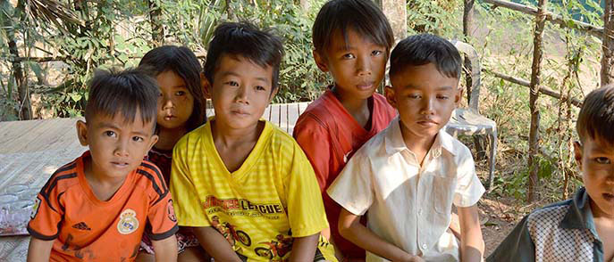 Charity for Kampong Cham Kinship - Cambodia