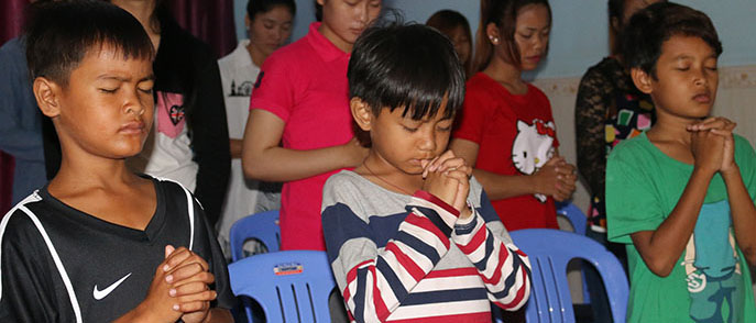 Charity for Chom Choa Kinship - Cambodia