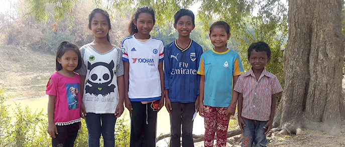 Charity for Siem Reap Kinship - Cambodia