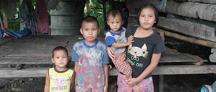 Charity for Wang Pa Kinship - Thailand