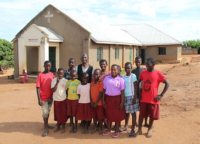 Kinship Projects are churches first with room for orphans and widows to live together in a loving family environment.