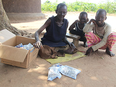 Your gifts brought much needed food to Jane, a grandmother from Uganda who's trying to keep herself and her three grandchildren alive.