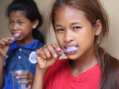 Give the gift of toothbrushes and soap this Christmas