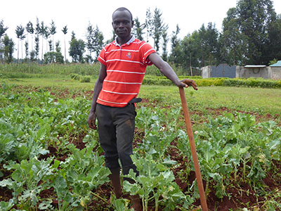 Henry Rajab discovered his interest in agriculture at an early age.