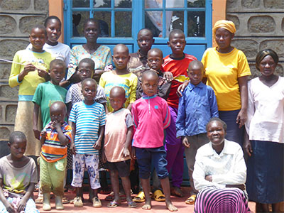 Widows and Orphans from Nzoia Kinship