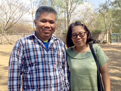 Pastor Kusol and wife Yupin - Mae Pa Kinship Project
