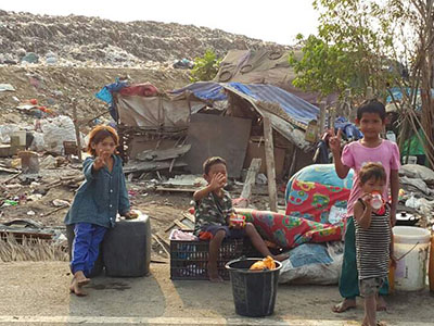The Mae Pa Kinship Project in Thailand serves children and families living in the nearby trash dump.