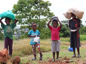 Your support feeds hungry children like Esther, Jerome, Geraldine, and Rinah in Uganda.