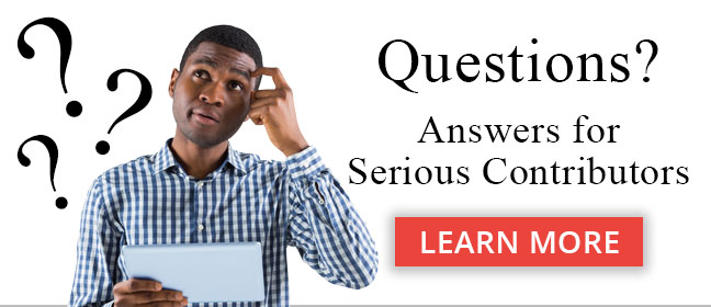 Answers for Serious Contributors