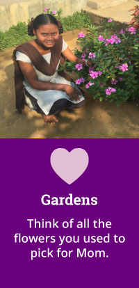 Mother's Day - Gardens