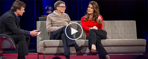 TED Talk Featuring Bill and Melinda Gates