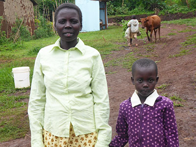 Linet has been through a lot before ending up safe at the Geta Kinship Project.