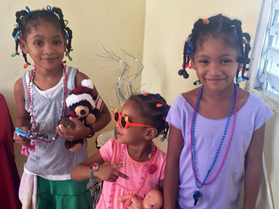 Today, thanks to generous donors, Genesis and her two sisters are healthy and safe.