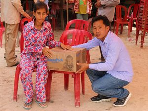 Thanks to your gifts, Pang Sobin received nutritious food that helped her to heal from her mysterious ailment.