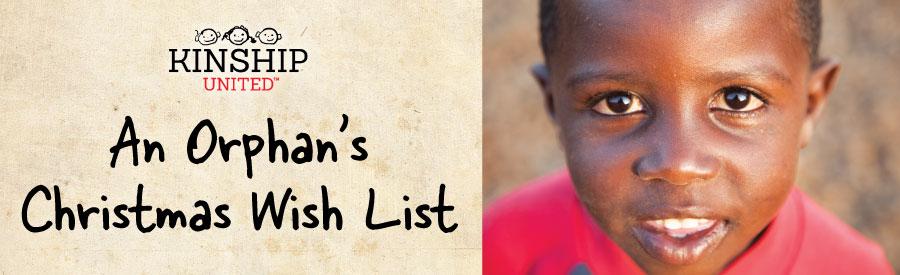An Orphan's Christmas Wish List