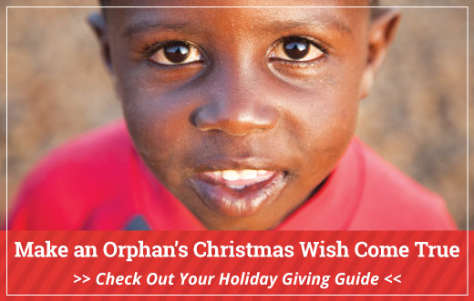 Make an Orphan's Christmas Wish Come True